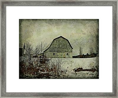 Standing Proud  Framed Print by Dianne  Lacourciere