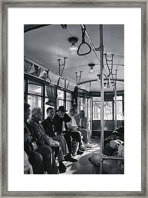 Standing Room Only Framed Print by Steve Godleski