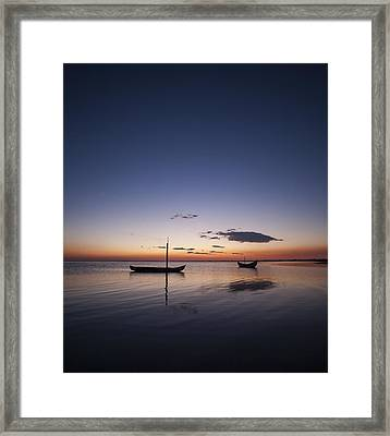 Framed Print featuring the photograph Standing Still #2 by Antonio Jorge Nunes