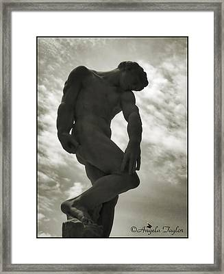 Standing Tall Framed Print by Angela  Taylor