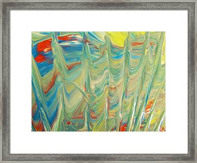 Standing Tall Framed Print by Artist Ai