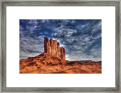 Standing Tall In Color Framed Print