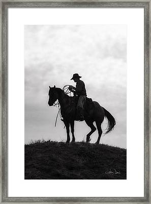 Standing Watch 2013 Framed Print by Joan Davis