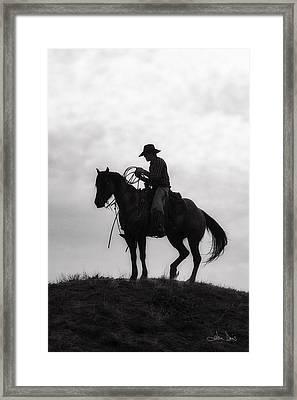 Standing Watch 2013 Framed Print