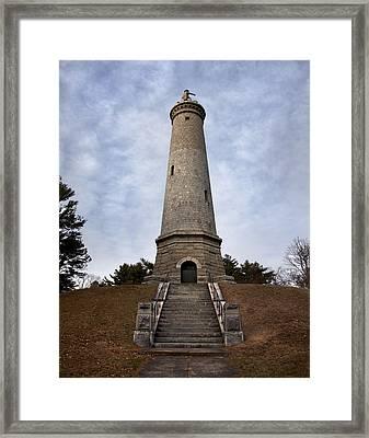 Standish Monument Framed Print