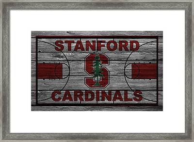 Stanford Cardinals Framed Print by Joe Hamilton