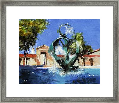 Stanford Claw Framed Print