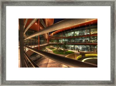 Stanford Is Beautiful Framed Print by Peter Thoeny