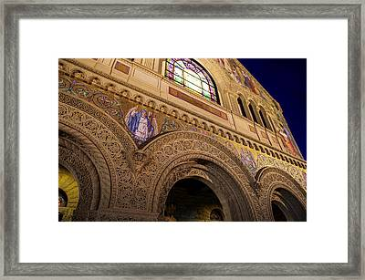 Stanford University Memorial Church Faith Framed Print by Scott McGuire
