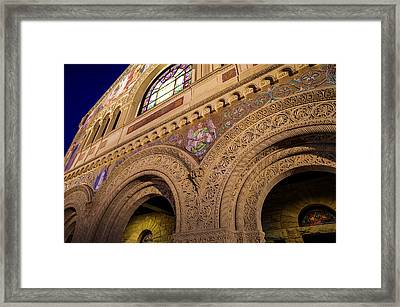 Stanford University Memorial Church Hope Framed Print by Scott McGuire