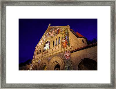 Stanford University Memorial Church Framed Print by Scott McGuire