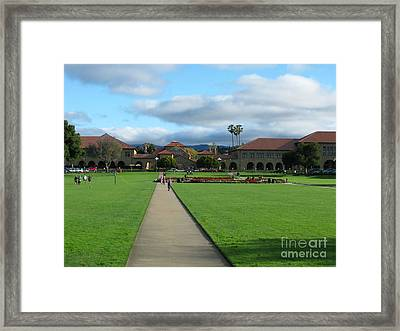 Stanford University Framed Print