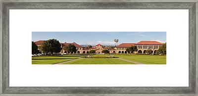 Stanford University Framed Print by Georgia Fowler