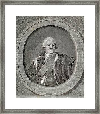 Stanislaus II Poniatowski Augustus Framed Print by Prisma Archivo