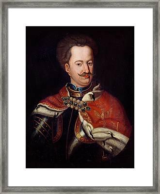 Stanislaw I Leszczynski 1677-1766 Oil On Canvas Framed Print