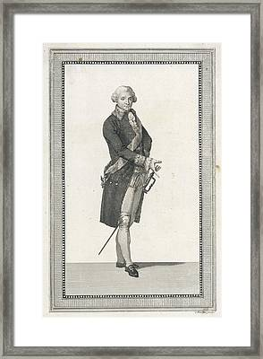 Stanislaw II Augustus Poniatowski  Last Framed Print by Mary Evans Picture Library