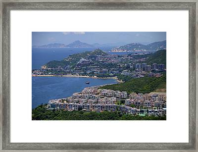 Stanley Bay  Framed Print by Sarah Mullin