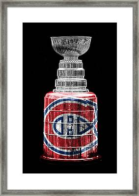 Stanley Cup 7 Framed Print by Andrew Fare