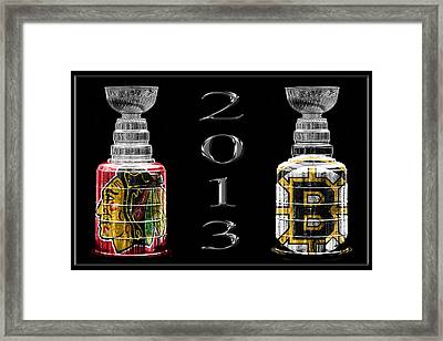 Stanley Cup Playoffs 2013 Framed Print by Andrew Fare