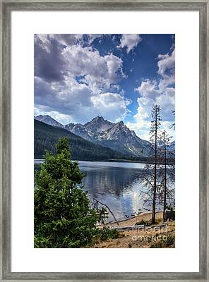 Stanley Lake View Framed Print