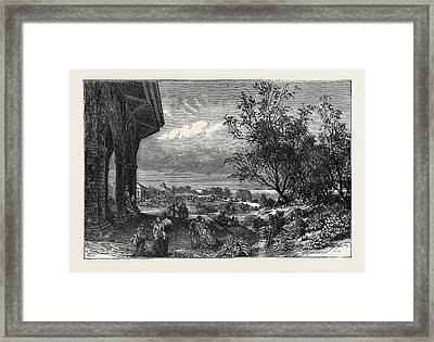 Stanley Park, Liverpool Framed Print by English School