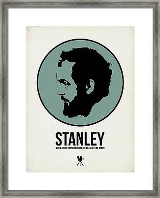 Stanley Poster 1 Framed Print by Naxart Studio