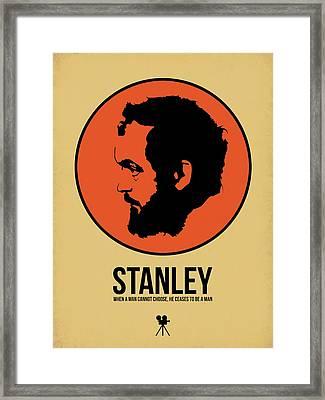 Stanley Poster 2 Framed Print by Naxart Studio