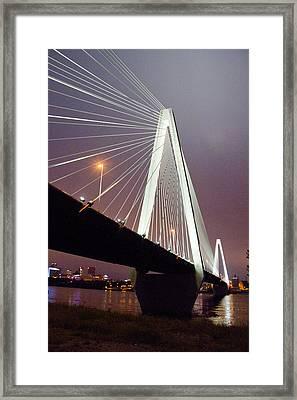 Stan's Span Over The Mississippi River - St Louis Framed Print