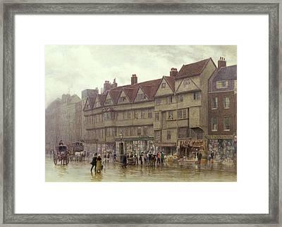 Staple Inn  Holborn Framed Print by Philip Norman