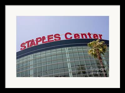 Staples Center Framed Prints