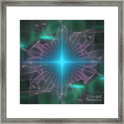 Star 2 Framed Print by Ursula Freer