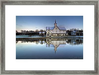 Star Barn Framed Print