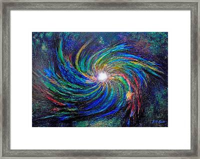 Star Birth Framed Print by Michael Durst