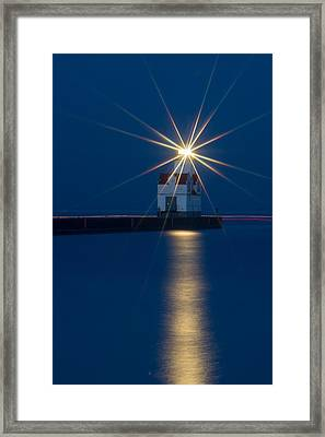 Star Bright Framed Print by Bill Pevlor