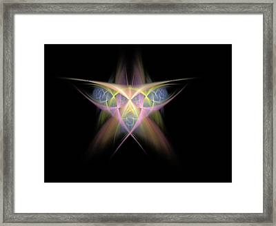 Star Framed Print by Bruce Nutting