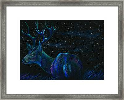 Star Bucks  Framed Print