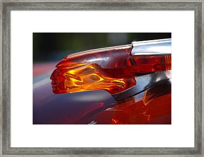 Framed Print featuring the photograph Star Chief 1955 by John Schneider