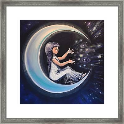 Celestial Games Framed Print