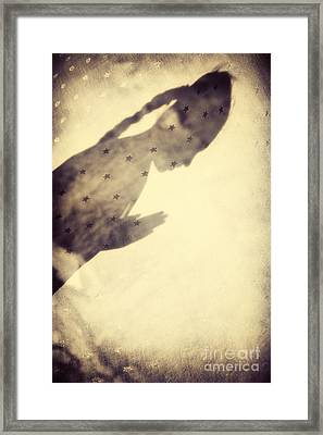 Star Child Framed Print by Tim Gainey