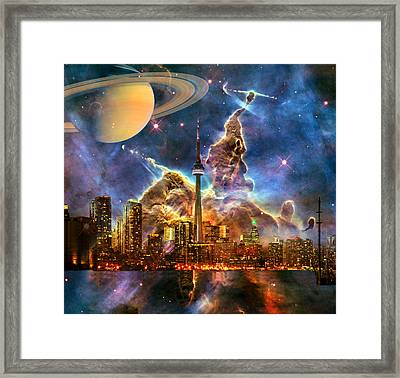Star City Framed Print