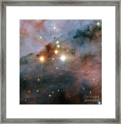 Star Cluster Trumpler 16 Framed Print
