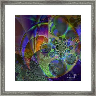 Star Cluster  Framed Print by Ursula Freer