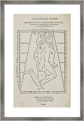 Star Constellation Framed Print by British Library