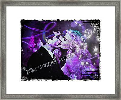 Star-crossed Lovers Framed Print by Absinthe Art By Michelle LeAnn Scott