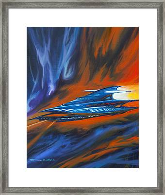 Star Cruiser Framed Print