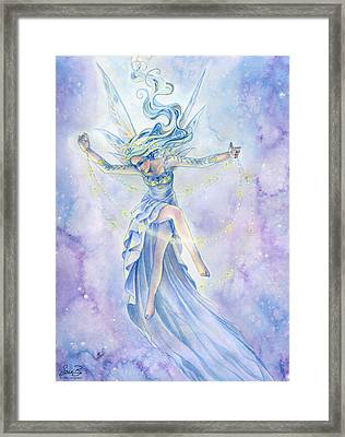 Star Dancer Framed Print by Sara Burrier