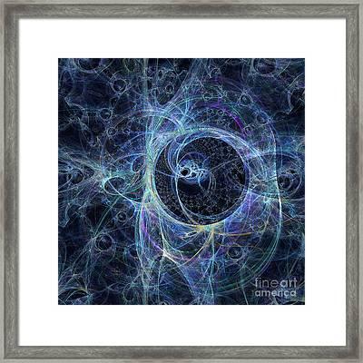 Star Density Framed Print