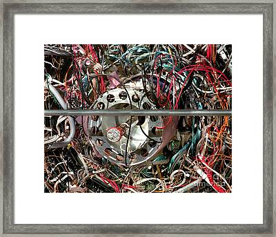 Star Detector Framed Print by Brookhaven Natl Lab and SPL and Photo Researchers