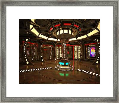 Star Drive Accelerator Framed Print by James Christopher Hill