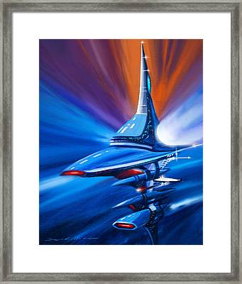 Star Drive Framed Print by James Christopher Hill